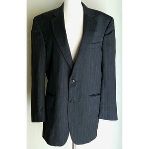 Jos A Bank Other - JosA Bank Gray/Purple Pinstripe Suit Jacket/Blazer
