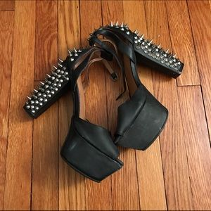 Jeffrey Campbell Shoes - Jeffrey Campell spiked pumps