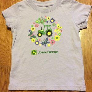 John Deere Other - Lilac John Deere T-Shirt 4T