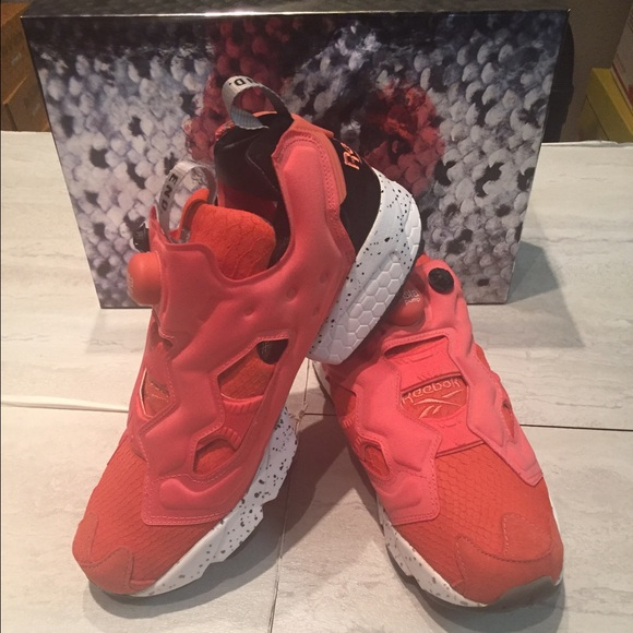 3c4551c0 Reebok Shoes | End X Instapump Fury Og Pink Salmon | Poshmark