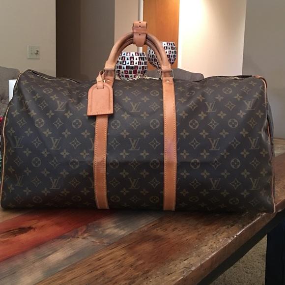 402b1f7f5e Louis Vuitton Handbags - AUTHENTIC LOUIS VUITTON KEEPALL 55
