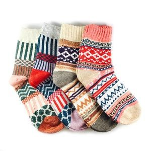 RODIER set of 4 pairs of women socks cashmere-wool ultra-soft