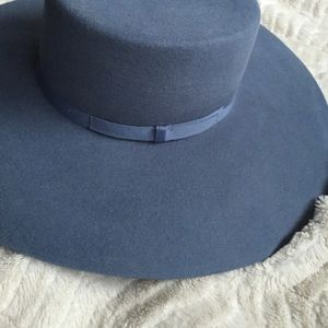 50e19eba3f74a Brixton Accessories - Brand New Brixton Wide Brim Blue Hat