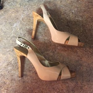 Shoes - Guess Nude Heels