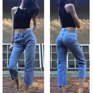 ❄️Vintage 501 Light Wash Levi's Size 27❄️
