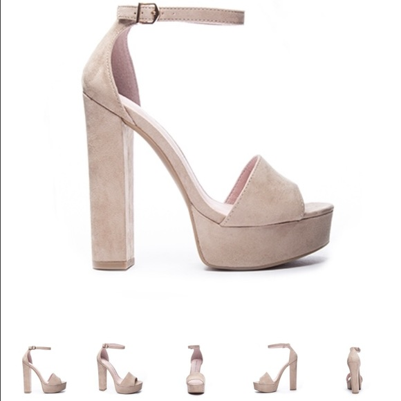 9b5a7aead6 Chinese Laundry Shoes - Chinese Laundry Avenue Platform Sandal in beige