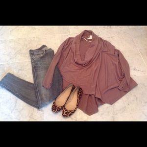 DREW Tops - DREW cowlneck pullover