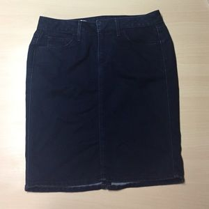 GAP Dresses & Skirts - Gap Dark Denim Stretch Pencil Skirt - 27/4