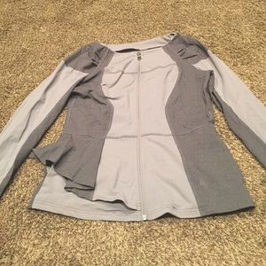 Dual gray shaded jacket with pockets