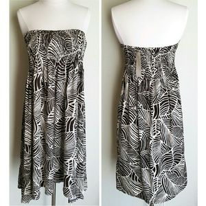 Jones New York Dresses & Skirts - NWT Jones New York Brown Leaf Strapless Dress