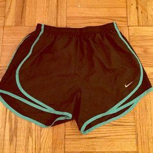Nike Dri-fit running shorts, size S