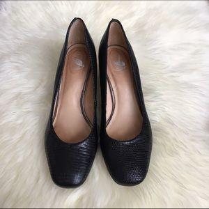 Nurture Shoes - Nurture Black Leather Pumps