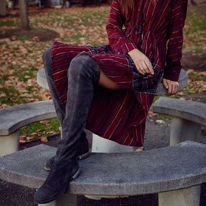 Free People Shoes - Cumbria Over the Knee Boot Free People