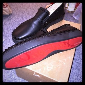 Christian Louboutin Other - Brand new authentic 💯💯 PIK Boat flat calf/GG