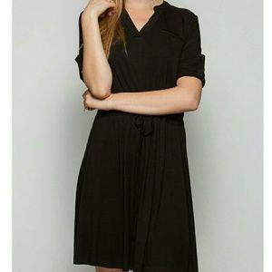 She and Sky Dresses & Skirts - 🆑 BLACK Knit Dress