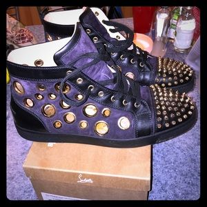 Christian Louboutin Other - Bubble spike MENS flat authentic 💯💯