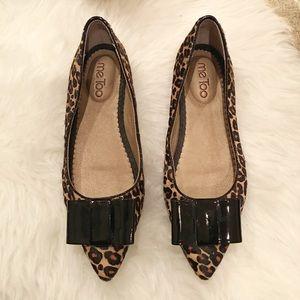 Me Too Leopard Flats