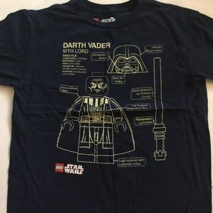 Lego Other - Youth Large 14/16 TShirt Star Wars Vader