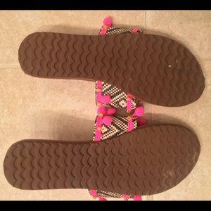26c9a5da576c Billabong Shoes - Billabong PomPom Sandals