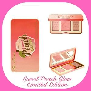 Too Faced Other - TOO FACED Sweet Peach Glow Shimmer Palette NIB
