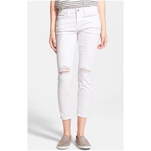 Current/Elliott Stiletto Cropped Skinny Jeans