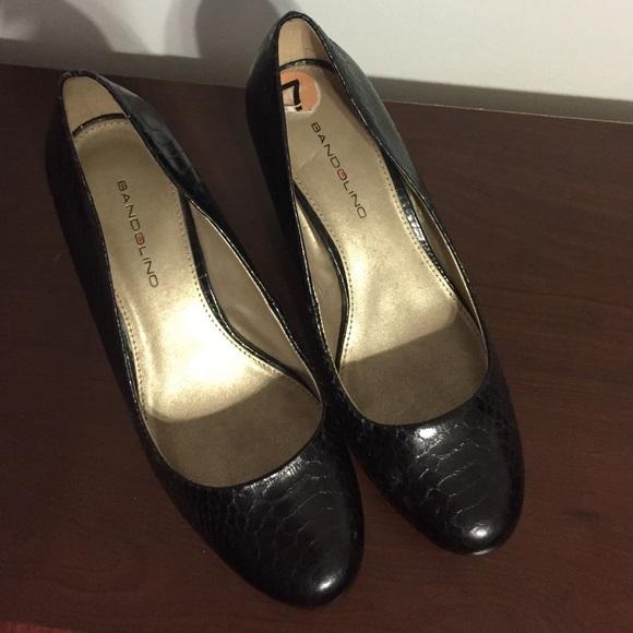 Black Bandolino Heels   Poshmark