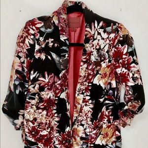 Urban Outfitters silk blazer