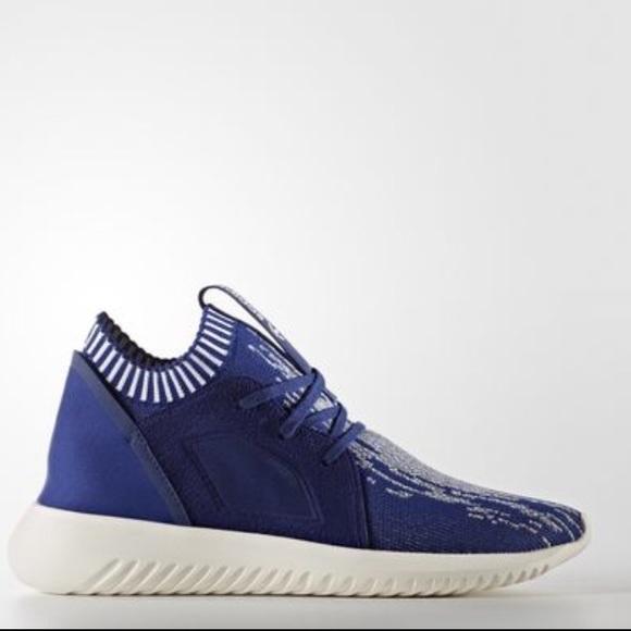 le adidas nwb raro blue tubulare primeknit poshmark defiant