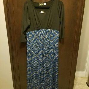 Bob Mackie 3/4 Sleeve Dress