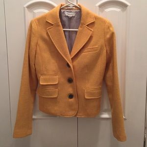 Paul & Joe Jackets & Blazers - Paul and Joe for Target yellow wool blazer, sz S
