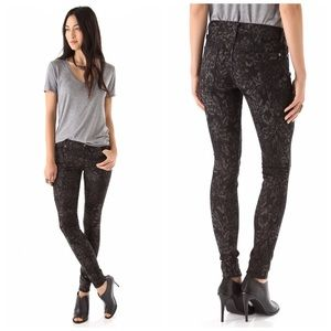 7 For All Mankind Denim - 7 For All Mankind Jacquard Skinny Jeans