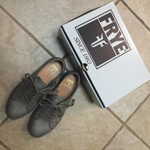 Frye Gemma Low Lace Sneakers Nib
