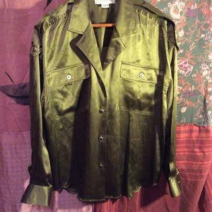Adrianna Papell Tops - Silk shirt $5 when you bundle 5