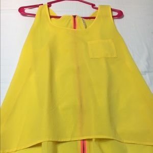 Tops - Yellow tank