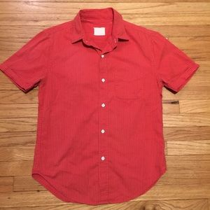 Band Of Outsiders Other - Band of Outsiders mens orange s/s button up - Med
