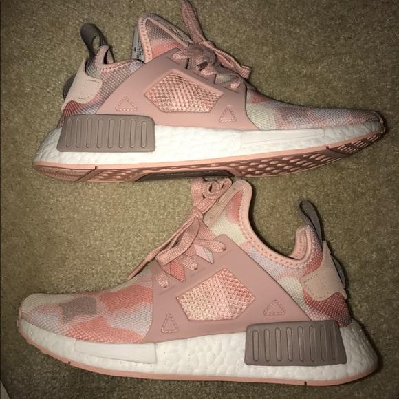 le adidas nmd rt pink mimetico dimensione 65 poshmark