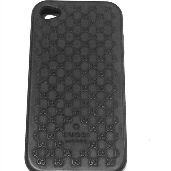 half off 1d447 26b1e Gucci I Phone 5 Rubber Case