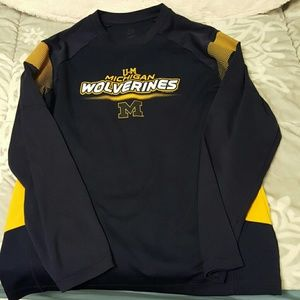 Majestic Other - Men's Majestic Michigan Wolverines Long Sleeve