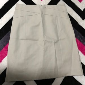 Banana Republic Tan midi skirt