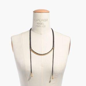 Madewell Jewelry - MADEWELL bolo choker necklace