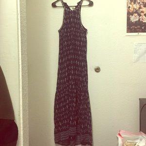 Joie Dresses & Skirts - Joie navy pattern long dress