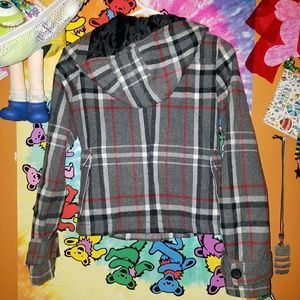 Xhilaration Jackets & Coats - Plaid Coat