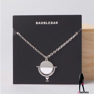 Bauble Bar Jewelry - Bauble Bar Spinning Disc Necklace