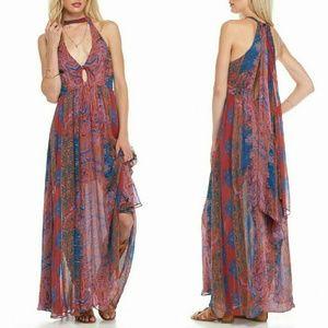 Free People Dresses & Skirts - New FREE PEOPLE Unattainable Halter Maxi Dress NWT