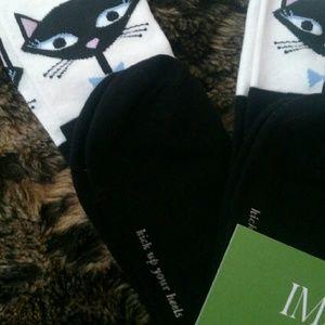 6d6c6b8f5 kate spade Accessories - 🎉HOST PICK🎉Kate Spade Cool Cat Knee-high Socks
