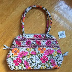 NWT Vera Bradley Bowler Bag in Tea Garden