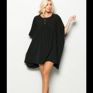 Dresses & Skirts - 🔥Black Babydoll Tunic Dress🔥