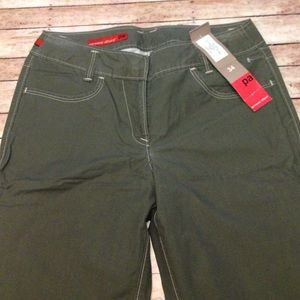 Personal Affairs Pants - Olive green light weight cargo pants