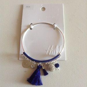 New H&M Bangle Charm Bracelet