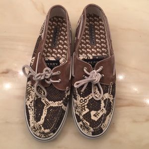 Sperry Top-Sider Shoes - Snake skin sperry
